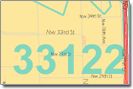 5 Digit Zip Code Maps